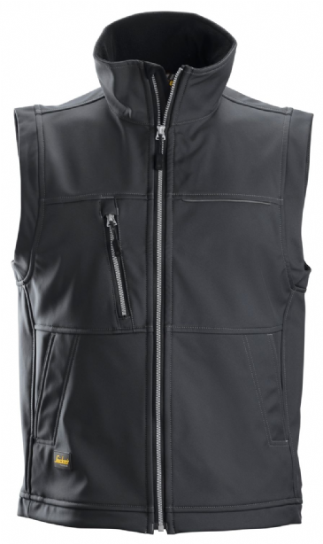 Snickers 4511 Profiling Softshell Vest Gilet (Steel Grey)